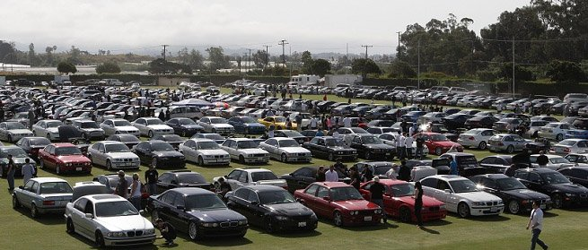 live view from a Bimmerfest